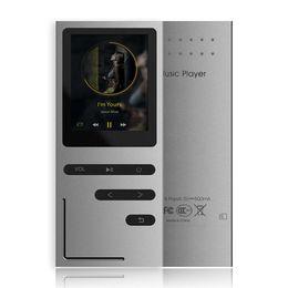 $enCountryForm.capitalKeyWord Australia - MP3 Player HiFi Metal Music Player Loseless APE FLAC Audio Player Built-in Speaker FM Radio Voice Recording w TF Card Slot 1.8 Inches Screen