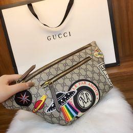 Bag stitching online shopping - 2019 Ladies Pocket Waist Pack For Women Fashion Chest Bag Leisure fashion Stitching style Fresh