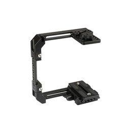 dslr camera cage rig NZ - CAMVATE Adjustable Camera Half Cage Rig With Manfrotto Quick Release Baseplate C2058