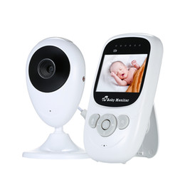 Lcd Baby Monitor Two Cameras UK - 2019 Wireless LCD Audio Video Baby Monitor Radio Nanny Music Two-Way Talkback 2.4in Portable Baby Camera Walkie Talkie