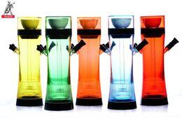 $enCountryForm.capitalKeyWord Australia - Acrylic Double Tube Alaba Hookah Cup Shisha Hookah Home Decor Fashion Glass Bongs Water Pipes 2019