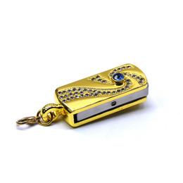 $enCountryForm.capitalKeyWord Australia - Gold Silver Usb Flash Black Metal Pendrive 4gb 8gb 16gb 32gb 64gb 128gb Rotate U Memory Stick Pen Drive