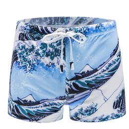 $enCountryForm.capitalKeyWord Australia - Men's Printing Swimming Trunks Shorts Briefs summer bathing suit 2019 swimming suit for men Beachwear Underwear Surf Boardshorts