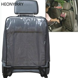 Kick Mats Australia - Car Auto Seat Back Protector Cover Back Seat For Children Babies Kick Mat Protects From Mud Dirt 59x43cm