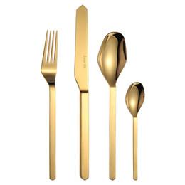 $enCountryForm.capitalKeyWord UK - LEKOCH 4 pcs Flatware Set Western Style Stainless Steel Cutlery Dinner Spoon Knife Fork Tableware Kit Wedding Restaurant Cutlery Set