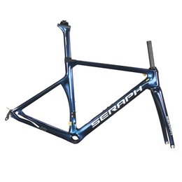China Road Bike Carbon Australia - China road bike carbon frameset ud road bike carbon frame custom color and logo full carbon frameset 2 years warranty