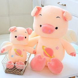 $enCountryForm.capitalKeyWord Australia - 35cm-75cm New Lovely Angel Pig Plush Toys Stuffed Animals Soft Plush Pig with wings Birthday Valentine Gifts for Girls Children