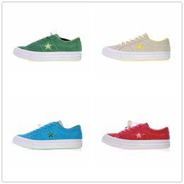 $enCountryForm.capitalKeyWord Australia - Brand Convase The Creator x One Star Ox Pinstripe Fleur Men Women Fashion Designer Sneakers Casual Shoes Sport Shoes With Box
