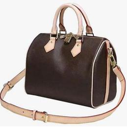 Genuine phones online shopping - designer luxury purse handbag genuine leather speedy L flower boston fashion totes women designer bags speedy purse bag