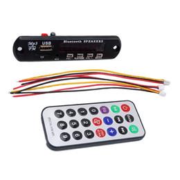 12v audio board online shopping - newest pieces Car Accessories Wireless Bluetooth V MP3 WMA Decoder Board Audio ModuleB TF Radio For auto
