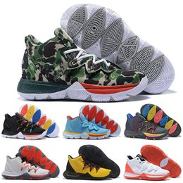 China Hot Boy Mens Kyrie V 5 All-Star Basketball Shoes Irving 5S Men Youth Black Magic Egyptian Women Zoom Sport training Sneakers High Ankle supplier egyptian magic cream suppliers