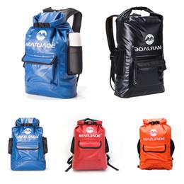 $enCountryForm.capitalKeyWord Australia - Lightwight Waterproof Bag For Swimming Suit Outdoor Waterproof Dry Bag Durable Portable Backpack For Kayaking Swimming Hiking Storage M246Y