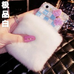 China Diamond bow Lipstick flower crystal stones fur case For Samsung galaxy j2 j4 j5 j6 j7 J8 a5 a6 a7 a8 2017 2018 prime plus pro cheap blue purple lipstick suppliers