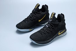 e915cd572009 James 15 Ashes Ghost Lebron 15 Basketball Shoes desginer Sneakers 15s Mens  Casual 15 King James sports shoes LBJ EUR 40-46 No box