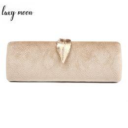 Gold Leaf Designs Australia - Faux Suede Evening Clutch Bag For Women Long Design Clutch Bag Gold Color Metal Leaf Lock Wedding Purse Female Handbag Bolsa Q190430