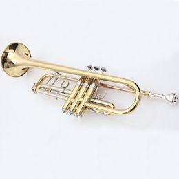 $enCountryForm.capitalKeyWord Australia - 2 pcs Vincent Bach Professional Bb Trumpet TR-600 Gold Lacquer Musical Instrument Professional Trumpet TR600 With Case Mouthpiece