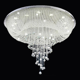 $enCountryForm.capitalKeyWord Australia - New Modern Crystal Chandelier For Ceiling Living Room Lobby Crystal Lamp Luxury Home Lighting Fixture LED Lustres De Cristal