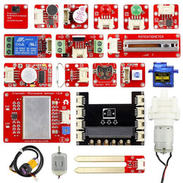 $enCountryForm.capitalKeyWord NZ - Freeshipping Crowtail Starter Kit for Micro:bit 2.0 Kids Beginners Learn Programming 20 Lessons Computer Electronic Gifts DIY Kit