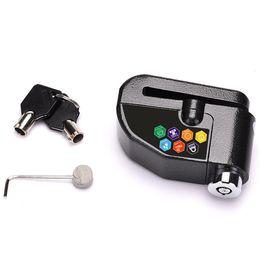 Brake disc lock alarm online shopping - Motorcycle Disc Lock Alarm Brake Anti theft db Scooter Motorbike Security car