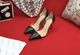 $enCountryForm.capitalKeyWord NZ - Brand Sexy 2019 Ways Hollow Out Down Single Bow Spring With High-heeled Shoes Stiletto Heel Summer Women