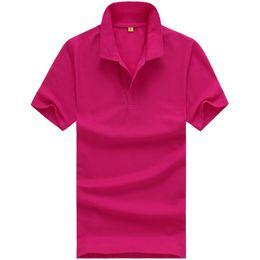 Solid Black Shirt For Men Australia - Designer Polo Shirt Men Clothing Short Sleeve Tees for Women Summer Style Classic Tops Blue Black White Solid Color