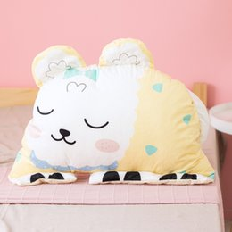 soft toys rabbit NZ - Big Pillow Plush Toys Soft Stuffed Animal Cushion Cloud Pillow Plush Rabbit Tiger Owl Stuffing Dolls Girl Children Birthday Gift