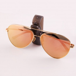 3a6943e830e 2018 Hot Auto Fastener Cip Vehicle Sun Visor Sunglasses Eyeglasses Glasses  Holder Ticket Clip Black Car Accessories ABS Clips