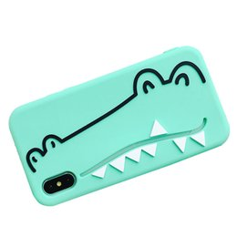 Cute 3d Animal Iphone Cases Australia - Cute 3D Cartoon Lovely Animal Pattern Design Soft Silicone Rubber Back Case Cover for iPhone XS MAX