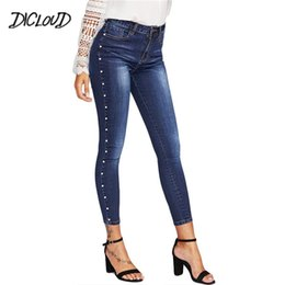 1aa81a0a5 DICLOUD 2018 Embroidered Flares Jeans Woman Fashion Stretch Skinny Pencil  Pants Female Casual Vintage Plus Size High Waist Jeans