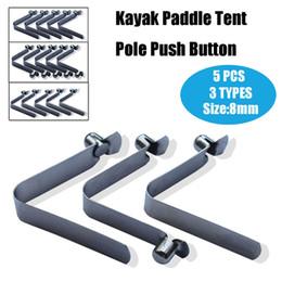 $enCountryForm.capitalKeyWord Australia - SGODDE 5Pcs 3 Types 8mm Kayak Paddle Tent Pole Push Button Spring Snap Clip Locking Tube Pin Snap Locking Tube
