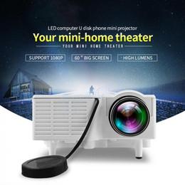 $enCountryForm.capitalKeyWord Australia - Cheapest Mini UC28+ Portable 1080P HD Projector Home Cinema Theater Multi-media Player 1080P Home Theater Game Supports VGA HDMI USB TF