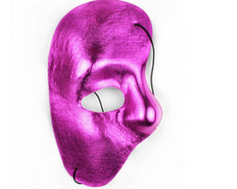 $enCountryForm.capitalKeyWord UK - Mask masquerade costume cosplay half face horror party Halloween painting design adult men women fashion attractive opera