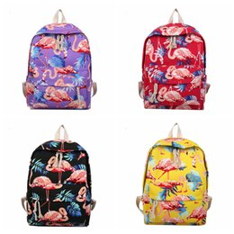 d2b3958e50 Girls cute backpacks online shopping - Flamingo Pattern Perilla Backpack  prited Women Cute Female Travel Daily