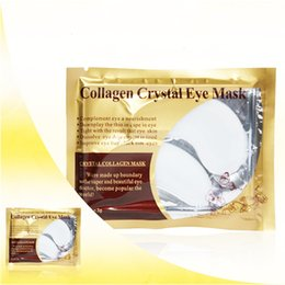 Anti Aging Oils For Skin Australia - 2Pcs 1Pair Women Skin Crystal Collagen Eye Mask Eye Patches for Face Care Dark Circles Remove Antipufiness Ageless Gel Mask