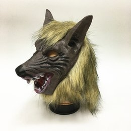 $enCountryForm.capitalKeyWord UK - Halloween Wolf Mask, Costumes Creepy Scary Full Face Werewolf Mask for Halloween and Cosplay Costume Party Horror Nights