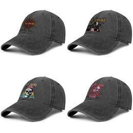 $enCountryForm.capitalKeyWord Australia - Def Leppard band 3 black hats,Cowboy hat mens and womens Cowboy ball styles custom trucker cap design your own blank hats skull Men's