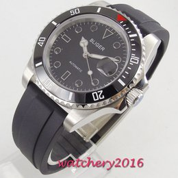 $enCountryForm.capitalKeyWord Australia - 40mm Bliger Diver Automatic Watch Mechanical Watches Rotating Ceramic Rotatig Bezel Sapphire Glass Luminous Wrist Watch Men Gift
