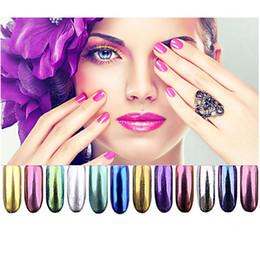 $enCountryForm.capitalKeyWord Australia - 1 Set 12 Color Fashion Nail Polish Laser Magic Aurora Mirror Powder Nail Glitter DIY Nail Art Decoration Manicure Wholesale