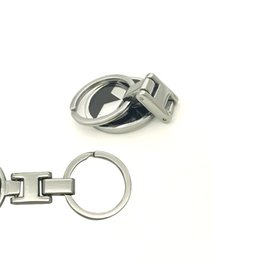 Chinese  Car Styling Keychain Zinc Alloy Key Chain Car Key Ring Luxury For Mitsubishi Lancer 10 ASX Pajero X logo Accessories manufacturers