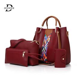 $enCountryForm.capitalKeyWord Australia - 2019 New Luxury Handbags Women Bags Designer Fashion Wild Handbag Retro Shoulder Crossbody Bag Composite Bag Four-Piece Handbag