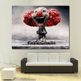 Clown Paintings Australia - 1 Piece Abstract The Clown Paintings On Canvas Modern Wall Pictures For Living Room Home Decor No Frame Oil Painting