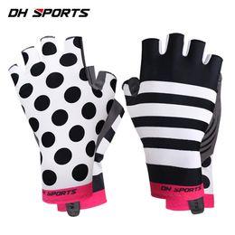Bicycle Road Cycling Gloves Australia - Hot Sale Womens MTB Road Bike Gloves High Elastic Half-Finger Gel Cycling Bicycle Glove Girl Sports Anti-slip Fitness Gloves