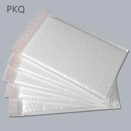 BuBBle packages online shopping - 30pcs Large Waterproof White Pearl Film Bubble Envelope Mailing Bags Bubble Mailers Padded Envelopes Packaging Shipping Bags