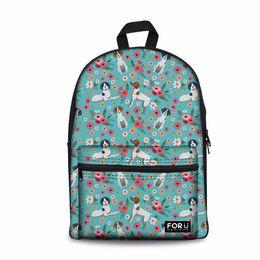 $enCountryForm.capitalKeyWord UK - Customized German Short Hair Printing Women Backpack Kids School Backpacks for Teen Girls Bookbag Feminine Casual Daypack 2019