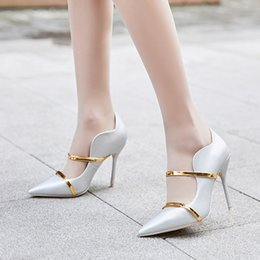 $enCountryForm.capitalKeyWord Australia - New pointy velvet heels, stiletto heels, double belt heels, suitable for party dress shoes, loafers, ladies party dress shoes