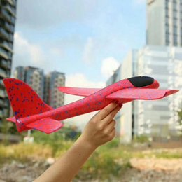 hand gliders NZ - 38cm Good quality Hand Launch Throwing Glider Aircraft Inertial Foam EPP Airplane Toy Plane Model Outdoor Toy Educational Toys