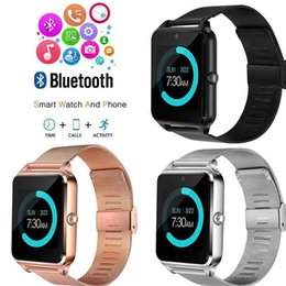 bluetooth smart watch sim Australia - Smart Watch For Men Fitness Bracelet Watch IP67 Waterproof With SIM Card Slot Women Men Watch Clock Wireless Bluetooth Sports Wrist Watchs