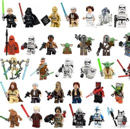 Minifig toy WM899-A Mandalorian WM924 Naves Rise of skywalker Wars 9 Kylo Rened Building Blocks Toys Figures on Sale