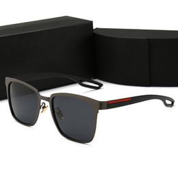 Sıcak Yeni Moda Vintage Sürüş Güneş Erkekler Açık Spor Tasarımcısı Erkek Güneş Gözlüğü Ile En Çok Satan Gözlük Gözlük 6 Renk Kutusu indirimde
