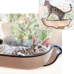 $enCountryForm.capitalKeyWord NZ - Hot Sale Cat Hammock Bed Mount Window Pod Lounger Suction Cups Warm Bed For Pet Cat Rest House Soft And Comfortable Ferret Cage T8190701
